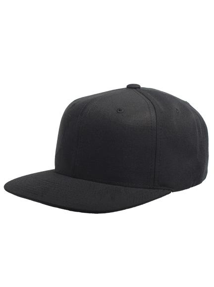 6ad6d814c0a Yupoong Classic Snapback Cap in Black-Grey - Snapback Caps for wholesale